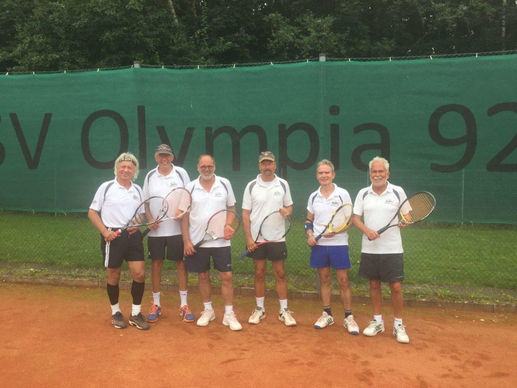 Aufstieg Tennis Herren in die Oberliga
